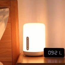 Die dimmbare WIFI & Bluetooth Nachttischlampe der 2ten Generation mit Sprachsteuerung und HomeKit Kompatibilität