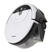 Wischroboter mit intelligenter Gyro-Technologie für die vollautomatische Nassreinigung. Bis zu 80 Minuten Laufzeit.