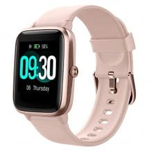 1.3 inch color touch display, pedometer, sleep monitor and activity log