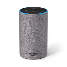 Amazon Echo 2, Hellgrau Stoff