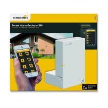 Smart Home Gateway zur Heimautomatisierung, sichere Speicherung aller Daten auf der Zentrale - keine Datenspeicherung in einer Cloud