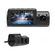 Rundum-Dashcam mit drei Kameras in 4k Auflösung und mit Weitwinkel. Inkl. Parküberwachung, GPS und Zeitrafferfunktion.