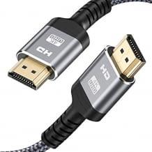 Kurzes 4K HDMI Kabel für Highspeed Datenübertragung und uneingeschränkte Bildqualität.