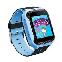 Kinder-Smartwatch mit Telefon-Funktion und SOS-Notruf. Inkl. Echtzeit-Ortung, Wecker und Schulmodus. Deutscher Support.