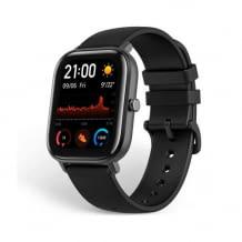 Smartwatch mit anpassbaren Widgets und schmalem Metallgehäuse. Wasserdicht bis zu 5 ATM.