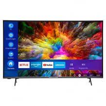 4K UHD Smart TV mit HDR10, Micro Dimming und zahlreichen unterstützten Streaming-Diensten.