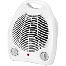 Stufenlos regelbarer Thermostat, 2 Heizstufen, Überhitzungsschutz, Ventilatorfunktion