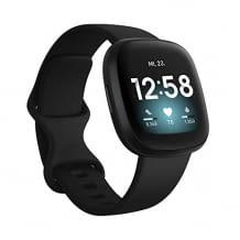 Gesundheits- & Fitness-Smartwatch mit GPS, Herzfrequenzmessung, Sprachassistent und bis zu 6 Tage Akku