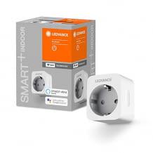Smarter Zwischenstecker mit Strommessung, steuerbar per App oder Alexa bzw. Google Assistant Sprachbefehlen