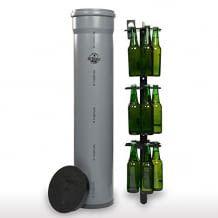 Bierkühler für ein Erdloch im Garten. Für die klimaneutrale Kühlung von bis zu 15 Flaschen. Bruchsicher und wasserdicht.