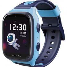 Wasserdichte Kinder Smartwatch mit Anruf-Funktion, Kamera, GPS- und SOS-Funktion, Schulmodus und Schrittzähler.