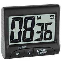 Digitaler Timer mit großem Display der restlichen Zeit. Inkl. Memory-Funktion und vielseitigen Befestigungsmöglichkeiten.