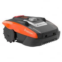 Geeignet für Rasenflächen von bis zu 300qm. Inklusive iRadar Ultraschallsensor, Kantenschneide-Funktion und Regensensor.