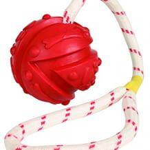 Schwimmfähiger Ball aus Naturgummi - mit praktischer Handschlaufe