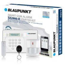 GSM Funk Alarmanlage mit vielen Sicherheits-Features. Alarmierung mit lauten Sirenen und per Anruf. Einfache Installation dank Plug & Play.