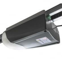 Smart Home fähiges Garagentorantrieb-Komplettset. Das Smartphone dient als Fernbedienung. Einfache Montage.