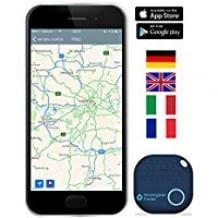 Schlüssel, Koffer oder Portmonee immer wieder finden - Einfach Ort auf Smartphone anzeigen und Alarm auslösen.