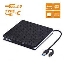Schnelle Datenübertragung. Reader und Recorder. Mit USB 3.0- und USB C-Schnittstelle. Plug and play.