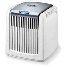 Wartungsarmer Luftwäscher mit Digitalanzeige. Reinigt die Luft in Räumen mit bis zu 20 Quadratmetern.