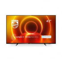 43 Zoll Philips Ambilight TV für kleinere Räume mit Dolby Vision, Dolby Atmos und integrierter Alexa.