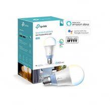 Alexa-kompatible LED-WLAN-Glühbirne mit einstellbarer Farbtemperatur, kein Hub notwendig, per App steuerbar