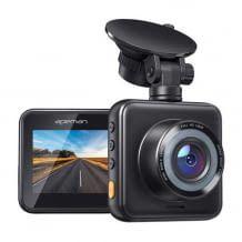 Dual Dashcam für Vorne und Hinten. Mit Full HD, 170 Grad Weitwinkel und Nachtsichtfunktion.