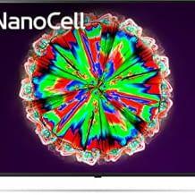 NanoCell Fernseher mit 4K, Tripe Tuner und Local Dimming für reine Farben und weite Blickwinkel.