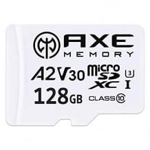 Wasserdichte, stoßfeste, röntgensichere und temperaturbeständige MicroSDXC Speicherkarte inkl. SD-Adapter