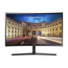 24 Zoll großer Curved Monitor mit Full HD Auflösung, Eye Saver Mode und Game Mode und einer Bildwiederholungsrate von 60 Hz.