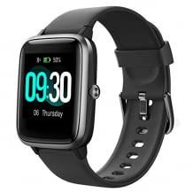 Fitness Armbanduhr mit 1,3 Zoll Touch-Farbdisplay, Schrittzähler, Schlafmonitor und Stoppuhr