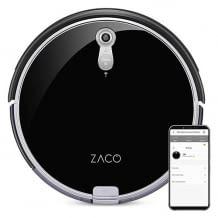Saugroboter mit Nass-Wisch-Funktion bis zu 180 qm und großem Wassertank. Mit PanView Kamer Navigation und App und Alexa-Steuerung.