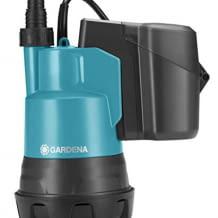 Fördert 2000 Liter pro Stunde, geeignet zur Flachabsaugung bis zu einer Restwasserhöhe von 5 mm, inkl. praktischem Akku