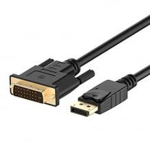 Stabiles Verbindungskabel unterstützt Videoauflösungen bis zu 1920x1200/1080p (Full HD). Die Folien & Geflecht Abschirmung reduziert elektromagnetische Störungen.