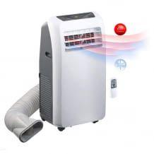 Kühlt, heizt oder entfeuchtet Räume von bis zu 55 qm. Mit Sprachsteuerung, Timer und mehrstufiger Ventilator-Funktion.