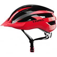 Smarter Fahrradhelm mit kabelloser Lenker-Fernbedienung für Abbieg-Signal am Helm, integriertem Mikrofon, Lautsprecher und SOS Alarm.