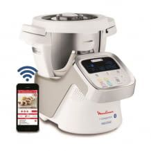 Mit 1550 Watt und Bluetooth-Schnittstelle für eine automatische Übertragung der Kochparameter und Fernsteuerung per App.