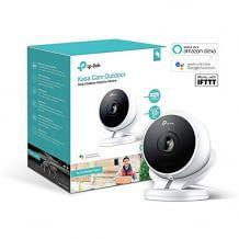 Alexa, Google Home und IFTTT kompatible Outdoor-Überwachungskamera mit 1080p-Auflösung