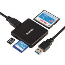 Geeignet zum Auslesen und Beschreiben aller gängigen Speicherkarten, außerdem angenehm kompakt und USB-kompatibel.