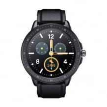Smartwatch im klassischen Look mit Sportfunktionen, Musiksteuerung, Fernfotografie und Schlaftracking.