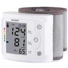 Günstiges Blutdruckmessgerät für das Handgelenk, Messbereich: 30 bis 280 mmHg; Puls: 40 bis 200 Schläge/Minute