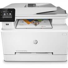 Multifunktions-Farblaserdrucker ermöglicht Drucken, Scannen, Kopieren und Faxen. Mit JetIntelligence.
