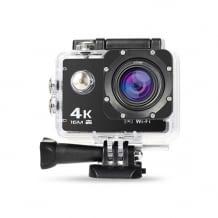 Günstige 4K Actioncam, mit viel Zubehör und wasserdichtem Gehäuse (bis 30 Meter)