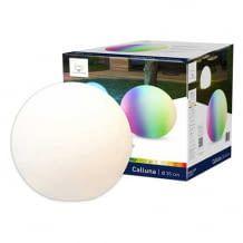 E27 Leuchtkugel mit bis weißem und farbigem Licht. Steuerbar per tint-Fernbedienung oder durch Einbindung mit ZigBee-Gateway.
