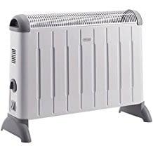 Das tragbare elektrische Heizgerät punktet durch einfache Handhabung und beheizt Räume bis 60 m³.