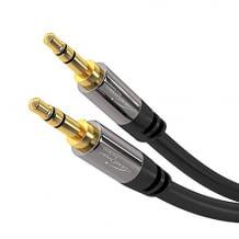 Aux Kabel für jedes Gerät mit 3.5mm Aux Anschluss. Aus bruchsicheren Vollmetall-Steckern.
