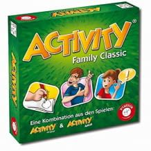 Kreatives Spiel für die ganze Familie. Man muss Begriffe zeichnen, umschreiben oder sie darstellen. Mitspieler müssen die Begriffe erraten.