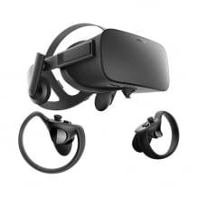 Virtual Reality Brille inkl. Controller, mit integriertem Soundsystem und sechs Gratis-Titeln