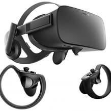 Virtual Reality Brille inkl. Controller, mit integriertem Soundsystem
