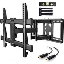 Kompatibel mit allen TV Geräten bis 75 Zoll und VESA-Norm Unterstützung. Flexible Position einstellbar.