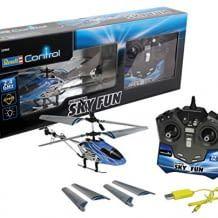 Robuster Hubschrauber für Einsteiger, mit USB-Ladekabel, Ersatzrotorblättern und Bedienungsanleitung